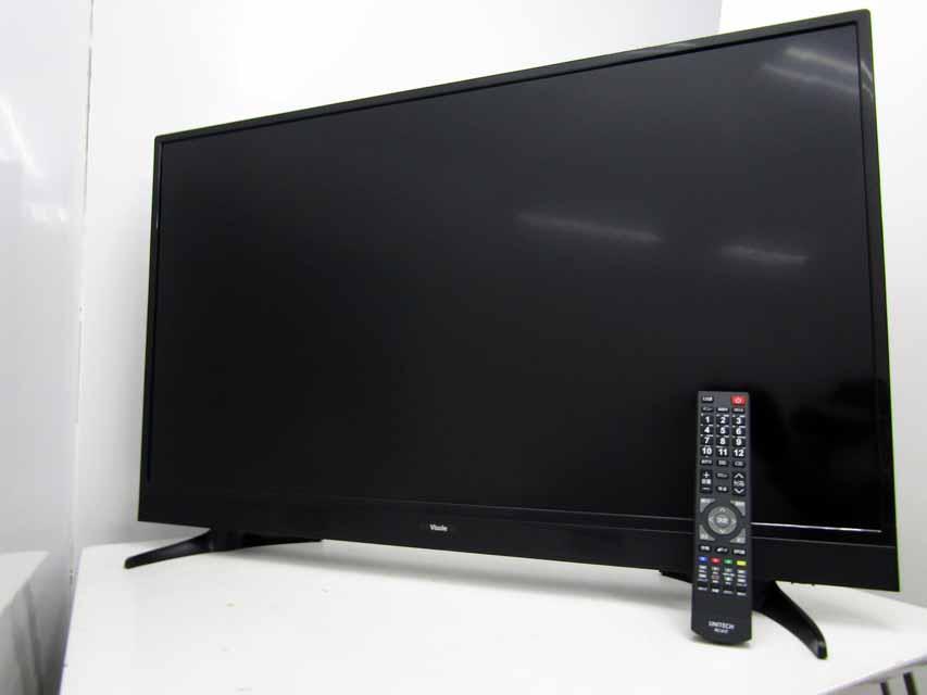 未使用 アウトレット 液晶テレビ UNITECH 40V型 フルハイビジョン 地上 BS CS 数量限定アウトレット最安価格 お中元 チューナー搭載 HDD録画機能 ユニテク Aランク Visole 未使用アウトレット品 TVケーブルおまけ LCH4014S あす楽 中古 地上デジタルフルハイビジョン液晶テレビ ブラック