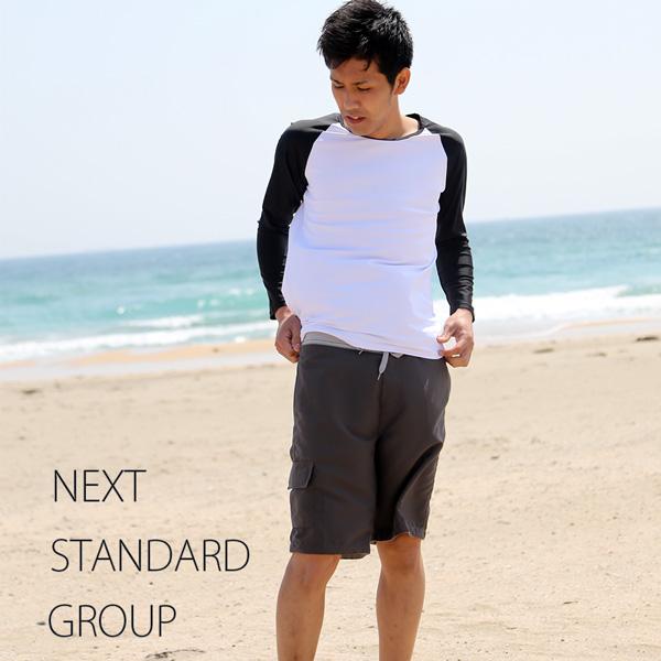 Swim Trunk Swimwear Men's Surf pants Swim Shorts Sea Board Shorts Solid amphibian shorts Swimsuit  large size shorts M L LL 3L 4L