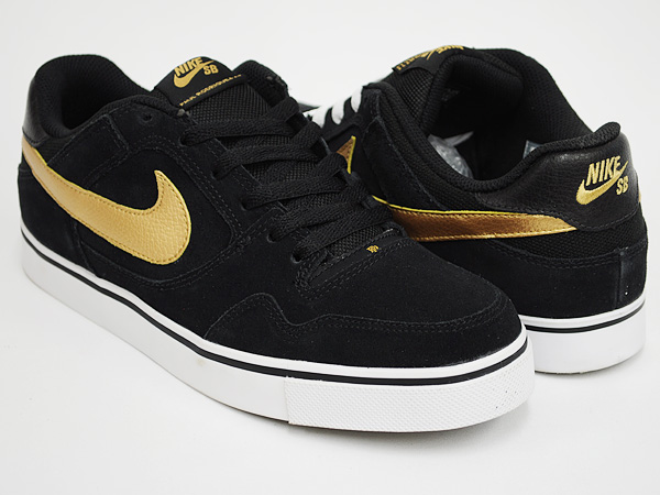 NIKE ZOOM PAUL RODRIGUEZ 2.5 BLACK / METALLIC GOLD