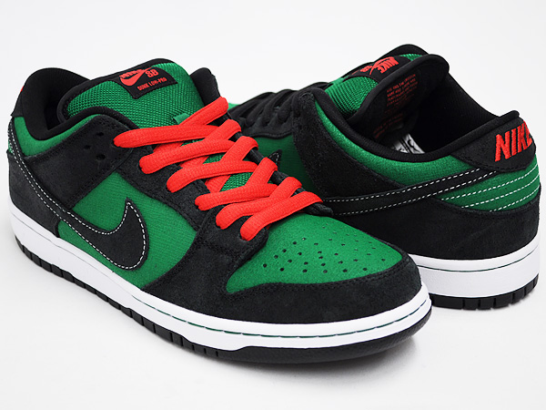 info for 6d353 2dd9b NIKE DUNK LOW PREMIUM SB PINE GREEN   BLACK - ATOM RED ...