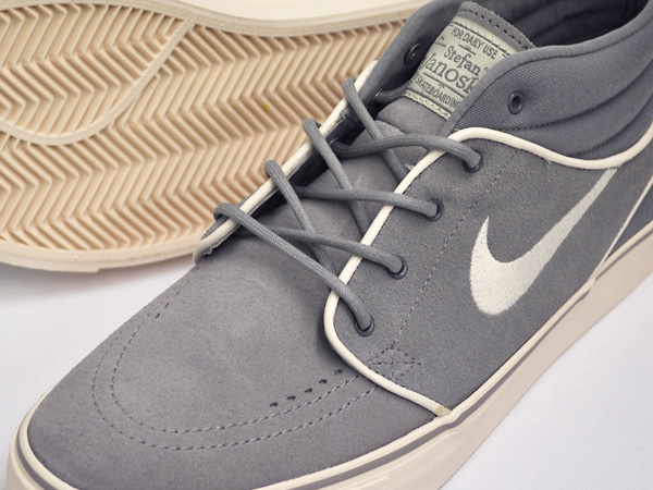 NIKE ZOOM STEFAN JANOSKI MID MEDIUM GREY / CHALK