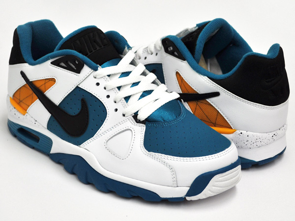 NIKE AIR TRAINER CLASSIC WHT / BLCK - INDSTRL ORNG - NW SPRC