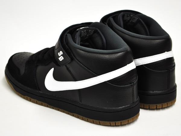 Nike Sb Dunk Sb Pro Mitad (negro / Blanco-antracita) 7Ysm9Kgs