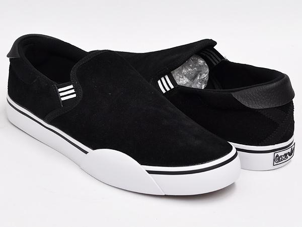 new style d5a82 5279e adidas GONZ SLIP BLACK1  RUNWHT  BLACK1