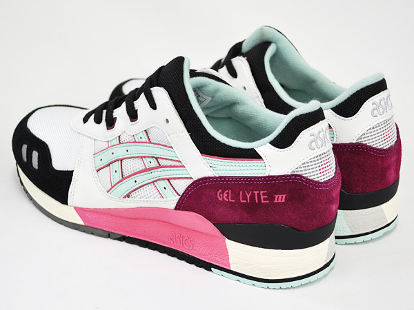 asics GEL-LYTE III WHITE / ICE GREEN