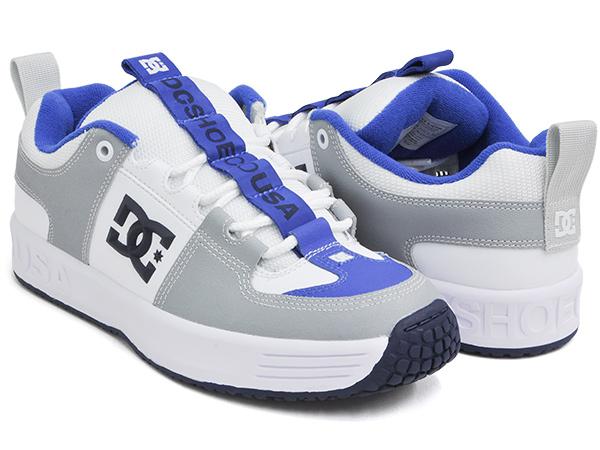 DC Shoes LYNX OG【ディーシー シューズ リンクス オージー オリジナル】【ヘリテージ コレクション 復刻】WHITE / BLUE (ADYS100425-WBL)