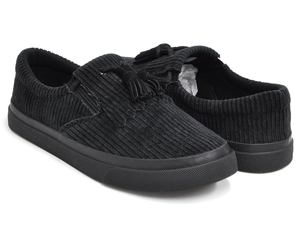 DCBA BY SON OF THE CHEESE DCBA TASSEL【ディーシービーエー バイ サノバチーズ タッセル】【DC Shoes ディーシー シューズ】BLACK (BLK)