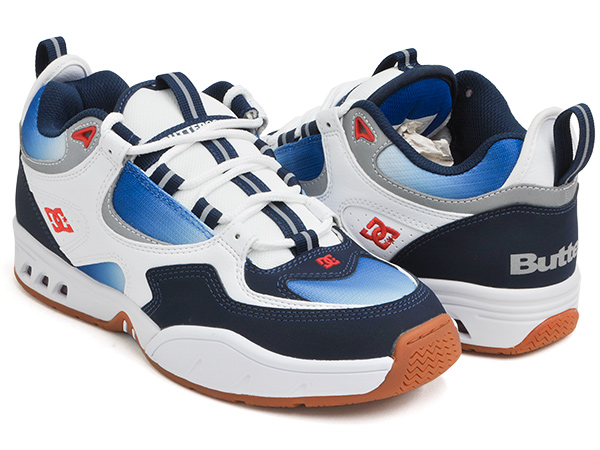 DC Shoes KALIS OG X BUTTERGOODS【ディーシー シューズ カリス キャリス オージー オリジナル】【ジョシュ・カリス ジョシュ・キャリス】【バターグッズ】NAVY / BLUE / WHITE (ADYS100561-NAV)