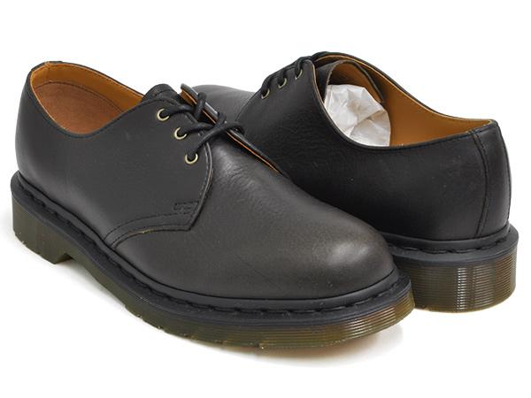 Dr.Martens 1461 3EYE GIBSON SHOE【ドクターマーチン 3 アイ ギブソン シューズ ホール】【革靴 ブーツ メンズ ウィメンズ レディース ユニセックス 男性 女性】BLACK HARVEST