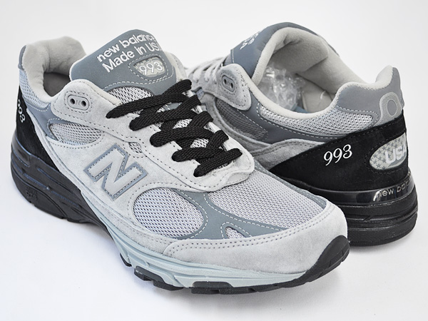 NEW BALANCE MR993 SBG SILVER / BLACK (D-wise)
