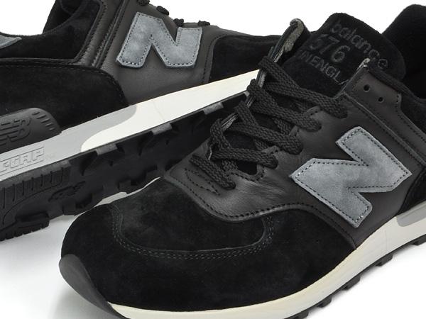 New Balance 576 Mens Shoes Black//Grey M576PLK
