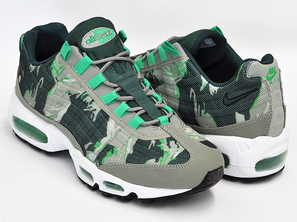 NIKE AIR MAX 95 PRM TAPE MINE GREY GAMMA GREEN MRTR WHT