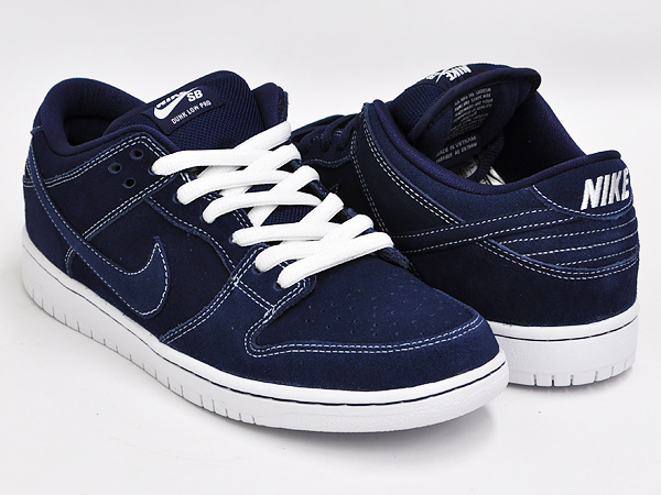 a42bceb75e51 gettry  NIKE DUNK LOW PRO SB MIDNIGHT NAVY   MID NAVY - WHITE ...