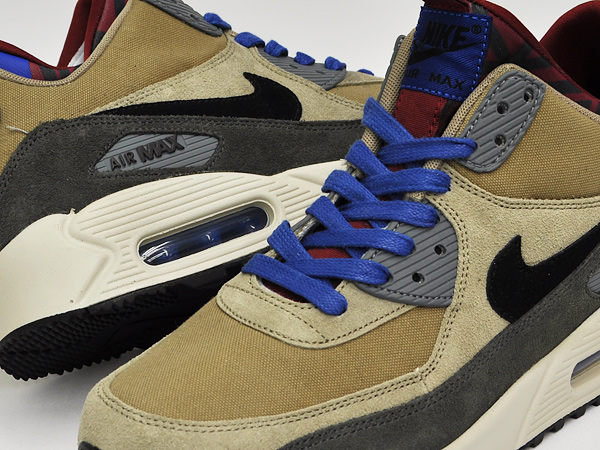 finest selection 08535 1f029 NIKE AIR MAX 90 SNEAKERBOOT PRM BAMBOO   BLACK - NEWSPRINT - TM RED - BLACK