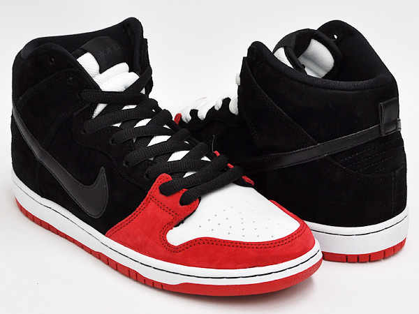 f2ee9640178295 ... cheap nike dunk high premium sb uprise black black university red wht  e5c1a ba921
