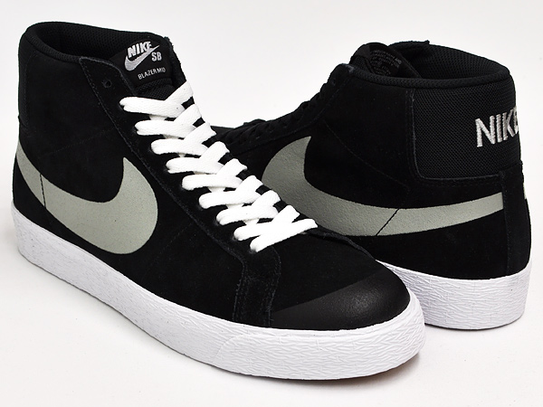NIKE BLAZER SB PREMIUM SE BLACK / BASE GREY - WHITE