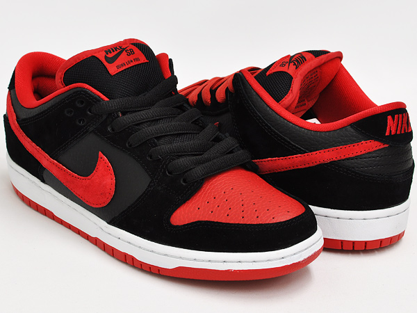 new photos outlet store low price NIKE DUNK LOW PRO SB ''J-PACK'' BLACK / UNIVERSITY RED - BLACK