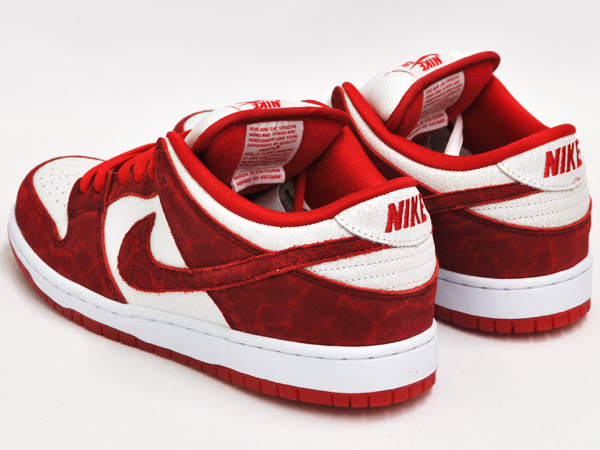 Gettry Nike Dunk Low Premium Sb Valentine S Day Unvrsty Red