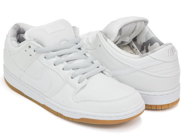 023003f328bc gettry  NIKE DUNK LOW PRO SB WHITE   WHITE - PURE PLATINUM