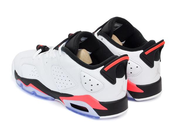 Nike Air Jordan Vi Lav Retro - Hvit / Infrarød Kalkun AEM16cBFtd