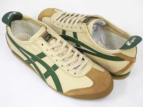 pretty nice 7fef6 141f9 -Onitsuka Tiger MEXICO 66 BEIGE / GRASS GREEN