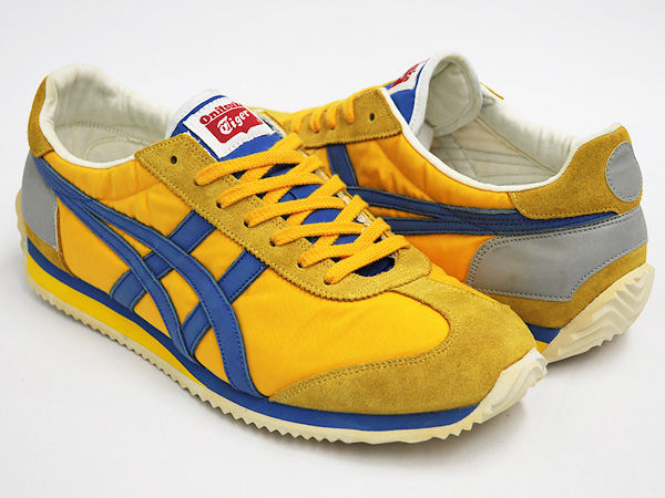 4ab1ff965721 gettry  Onitsuka Tiger CALIFORNIA 78 OG VIN YELLOW   BLUE