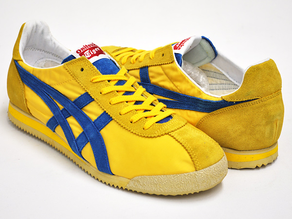 hot sales 27701 b9ddb Onitsuka Tiger TIGER CORSAIR VIN YELLOW / BLUE