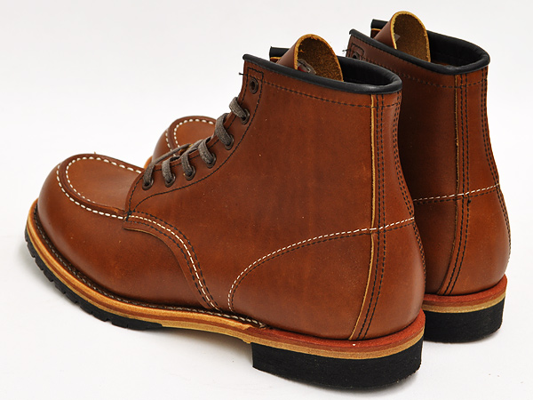 RED WING for J.CREW MOC TOE BECKMAN BOOTS #9012 CHESTNUT ''FEATHERSTONE'' WIDTH:D