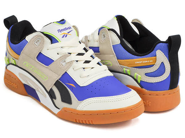 bright in luster quality products latest trends Reebok WORKOUT PLUS ATI 90S CREAM / SAND / COBALT / LIME