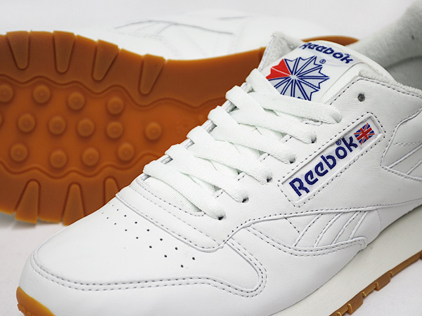 Reebok CLASSIC LEATHER VINTAGE WHITE / REEBOK ROYAL / GUM