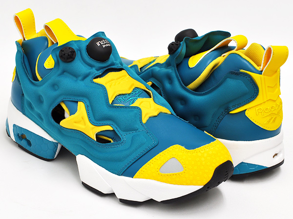 Reebok Pump Fury Teal Gem Nuclear Yellow (V53779)