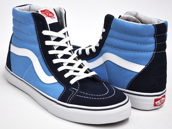 vans sk8 high schwarz blau