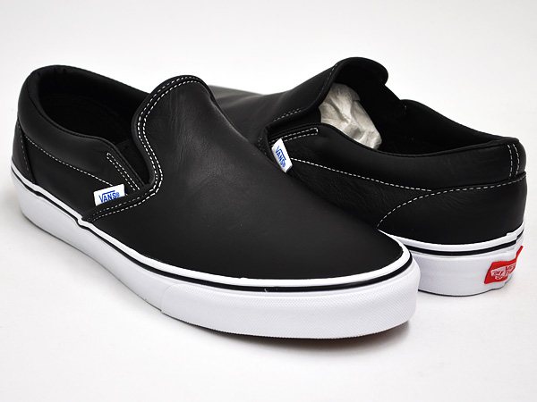 e1ecff2da8ef gettry: VANS CLASSIC SLIP-ON (AGED LEATHER) BLACK | Rakuten Global ...