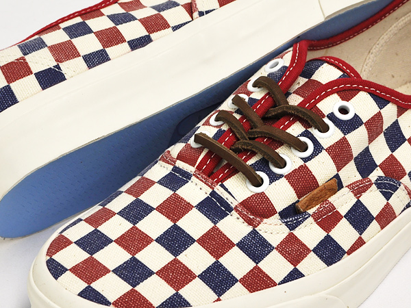 c051167a60a gettry  VANS AUTHENTIC CA (CHECKER) TRUE BLUE   RED