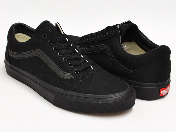 gettry vans old skool black black canvas rakuten. Black Bedroom Furniture Sets. Home Design Ideas