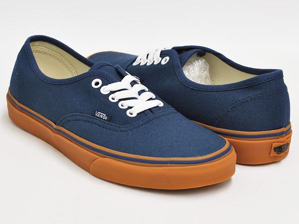 vans navy blue gum sole