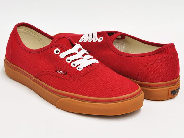 red vans gum