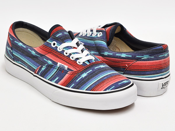 a4cc0c7b42 gettry  VANS ERA (VAN DOREN) MULTI STRIPE   BLUE