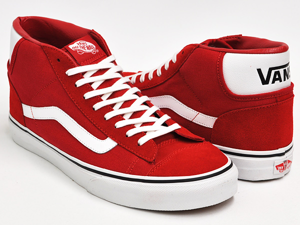 Buy Authentic novel style new authentic VANS MID SKOOL '77 BARBADOS CHERRY / TRUE WHITE