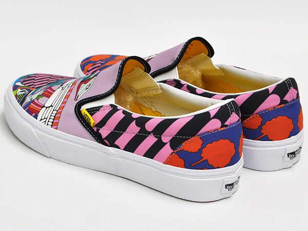 ◆ VANS CLASSIC SLIP-ON (THE BEATLES) SEA OF MONSTERS