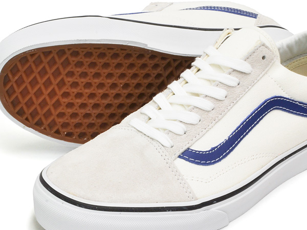 VANS OLD SKOOL WHITE / TRUE BLUE