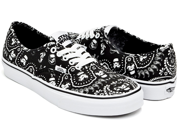 gettry  VANS AUTHENTIC (STAR WARS) STORMTROOPER BANDANA  7bb99ff0d