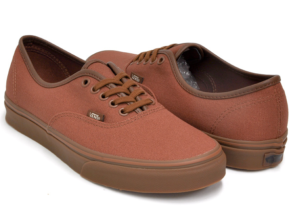 vans gum sole brown