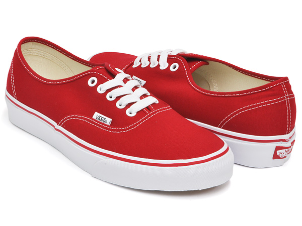 a153f01beae gettry  VANS AUTHENTIC RED