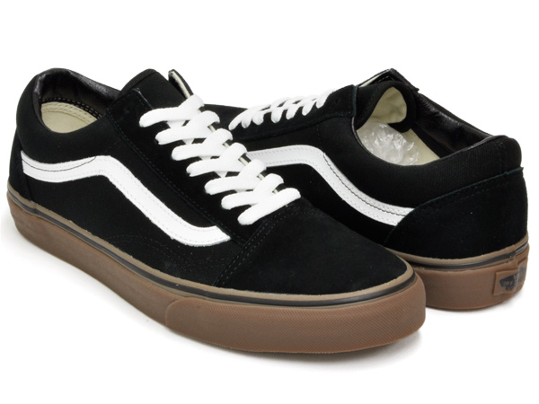 75a448ec ◆ VANS OLD SKOOL (GUMSOLE) BLACK/MEDIUM GUM