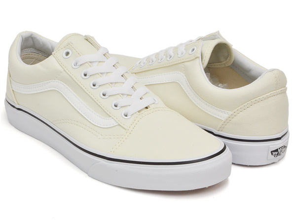 6053a859a7a40 gettry  CLASSIC WHITE VANS OLD SKOOL (CANVAS)
