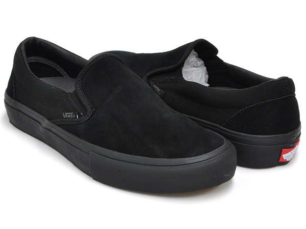 1af065e76b450e gettry  VANS SLIP-ON PRO BLACKOUT