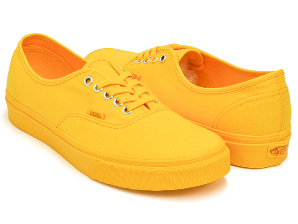 VANS AUTHENTIC (PRIMARY MONO) SPECTRA YELLOW   SILVER bde63dcce