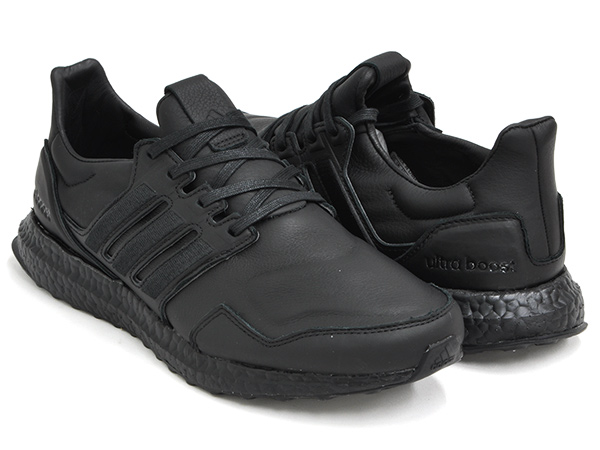 adidas ULTRA BOOST LEATHER''TRIPLE BLACK''【アディダス ウルトラ ブースト レザー トリプルブラック】BLACK / BLACK / BLACK
