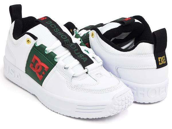 DC Shoes LYNX OG【ディーシー シューズ リンクス オージー オリジナル】【ラックス パック size? サイズ】WHITE / GREEN (ADYS100425-WGN)
